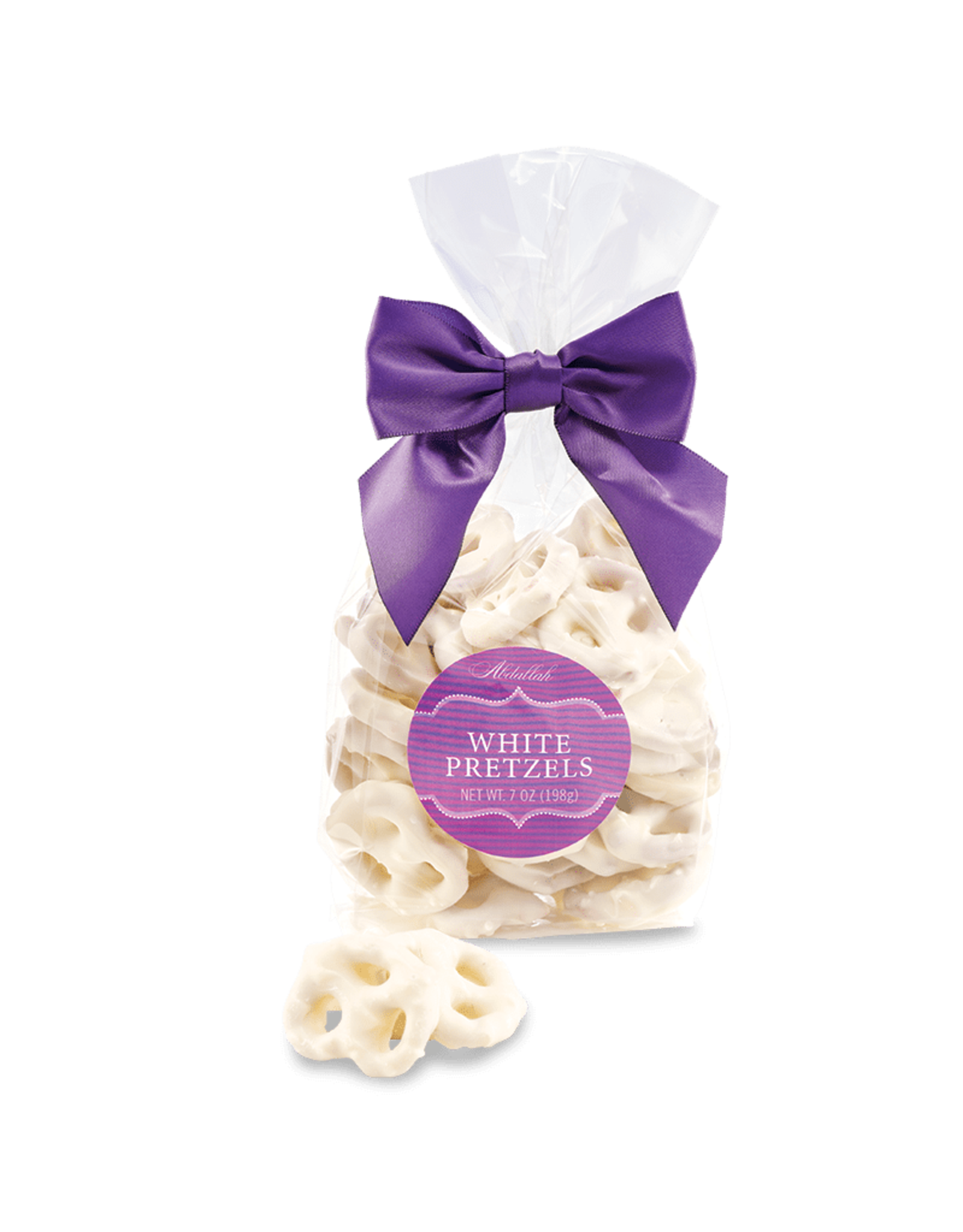 Abdallah White Chocolate Pretzels, 7 oz