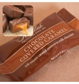 Abdallah Candy, Milk Chocolate Covered Caramel, .6oz