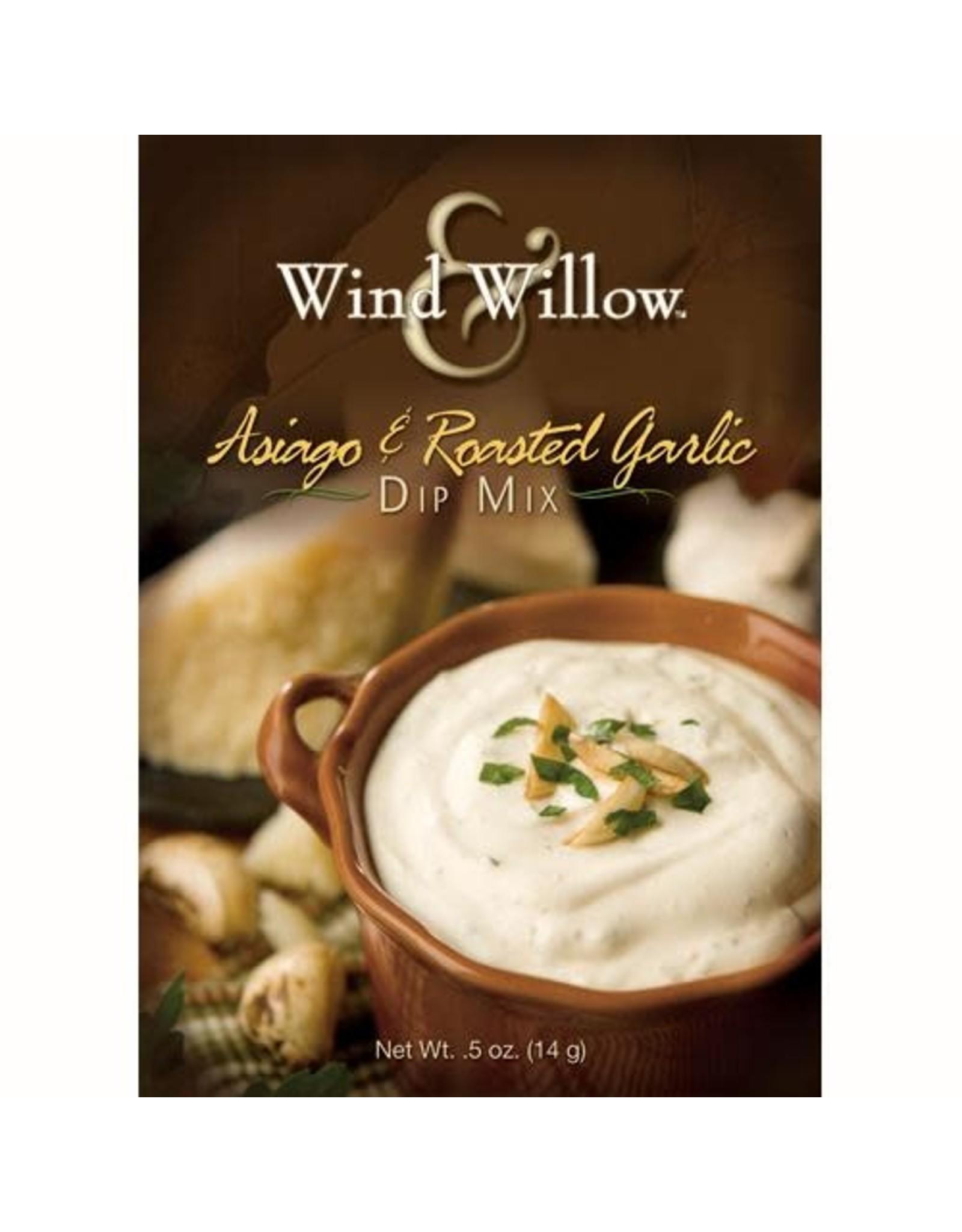 Wind & Willow Asiago & Roasted Garlic Dip Mix, .5 oz