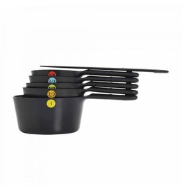 Oxo Snap Measuring Cup Set, Black, 6 Pc.