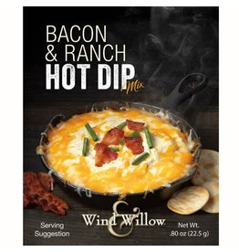 Wind & Willow Bacon & Ranch Hot Dip Mix, .80 oz
