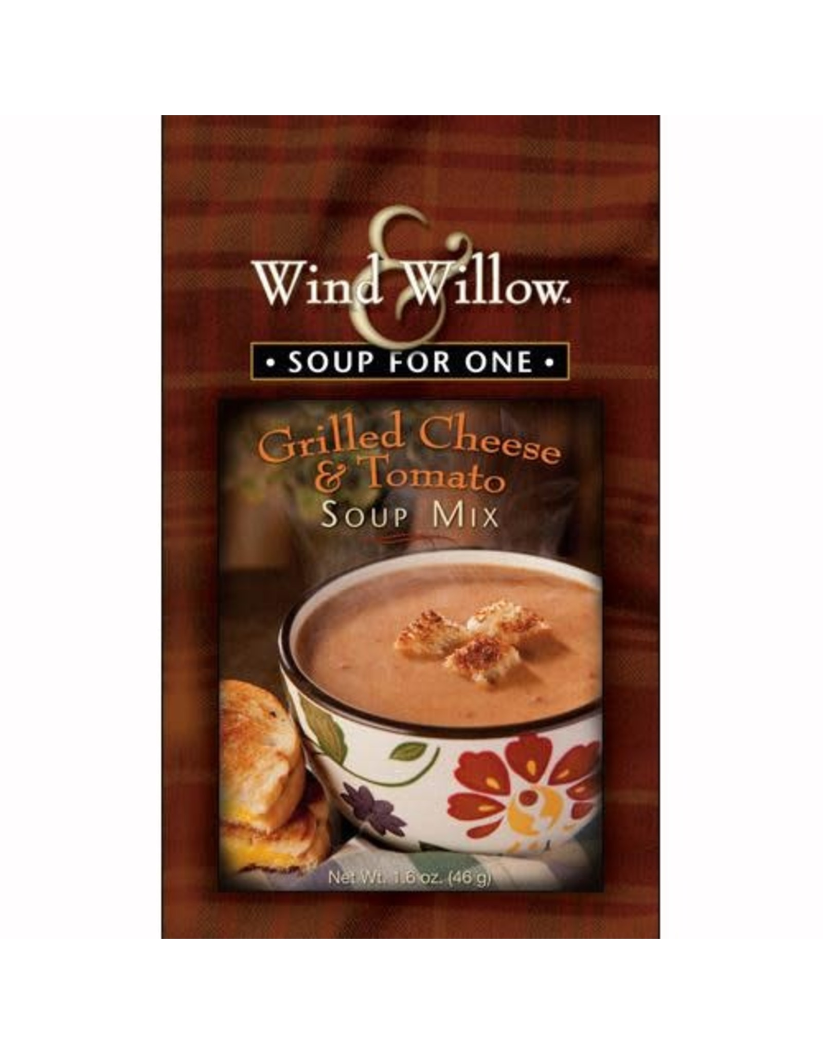 Wind & Willow Grilled Cheese & Tomato Soup Mix, Individual, 1.6 oz