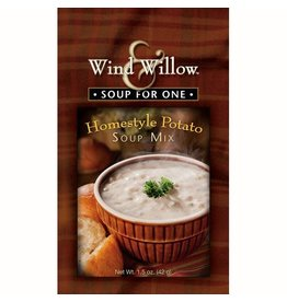 Wind & Willow Homestyle Potato Soup Mix, Individual, 1.5 oz