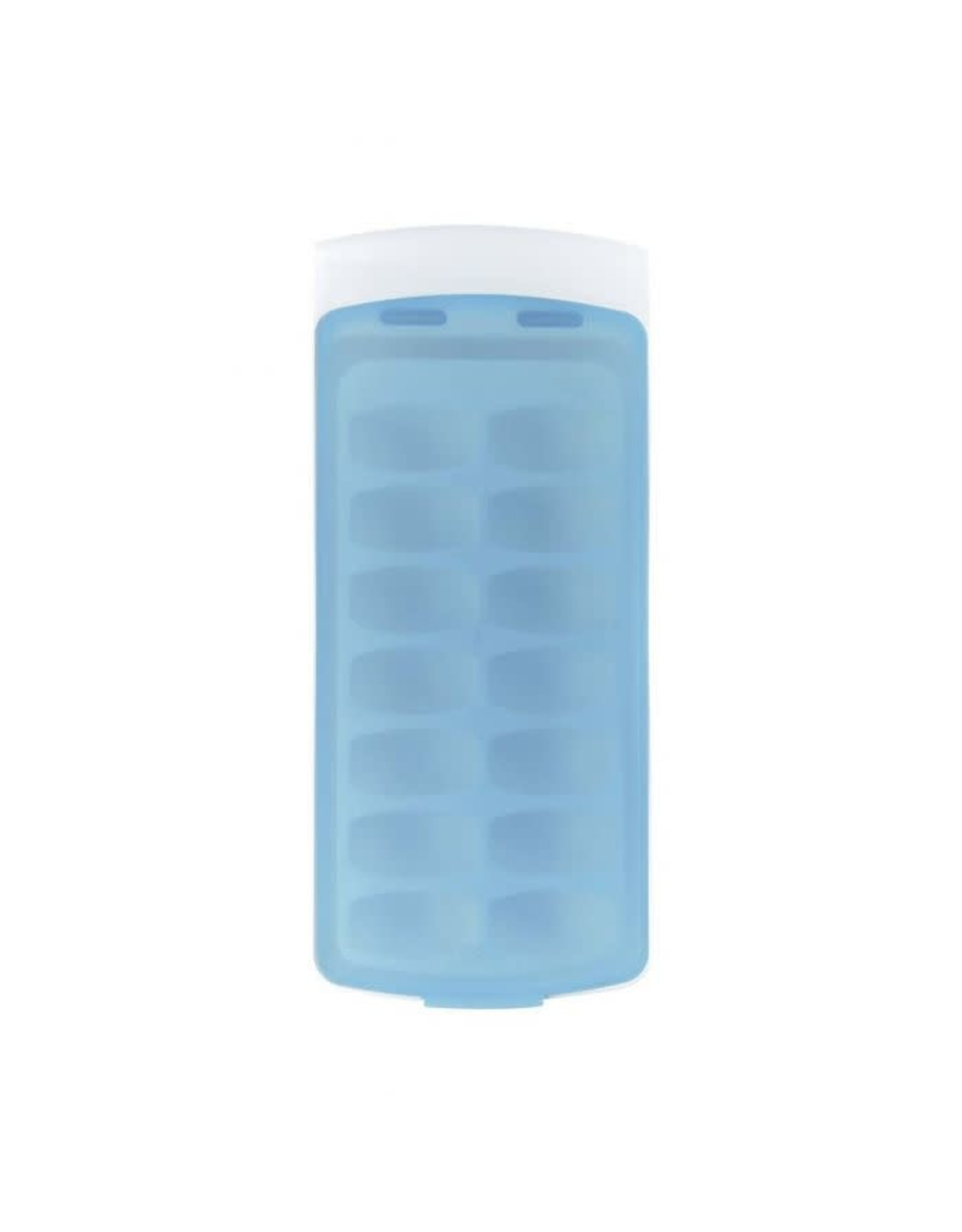 Oxo No Spill Ice Cube Tray, Blue/White