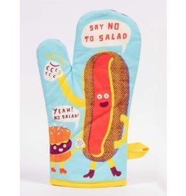 """Blue Q Oven Mitt, Say """"No"""" to Salad!"""