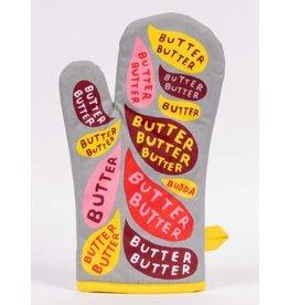 Blue Q Oven Mitt, Butter, Butter, Butter!