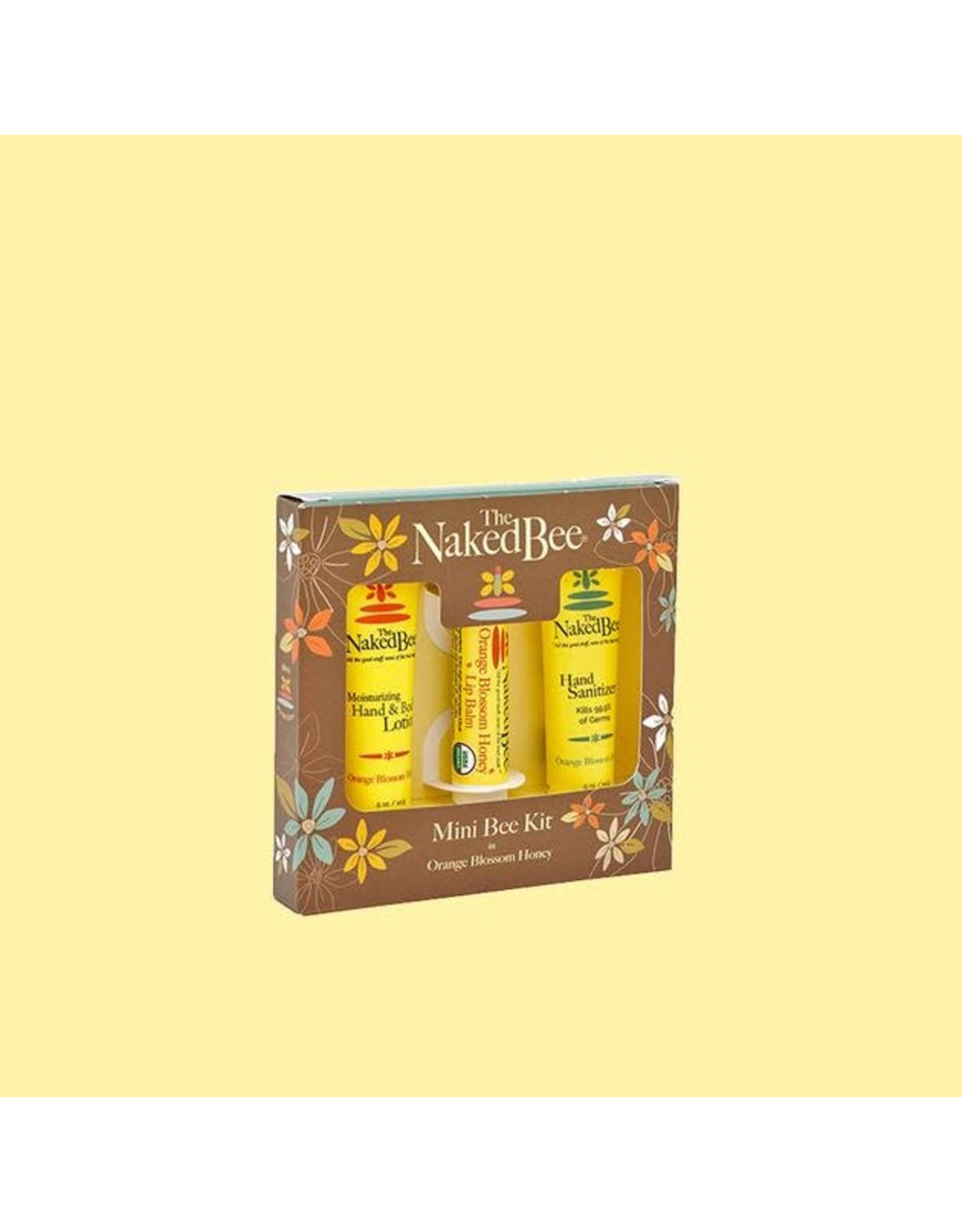 Mini Bee Kit-Lipbalm, Hand Sanitizer & Body Lotion