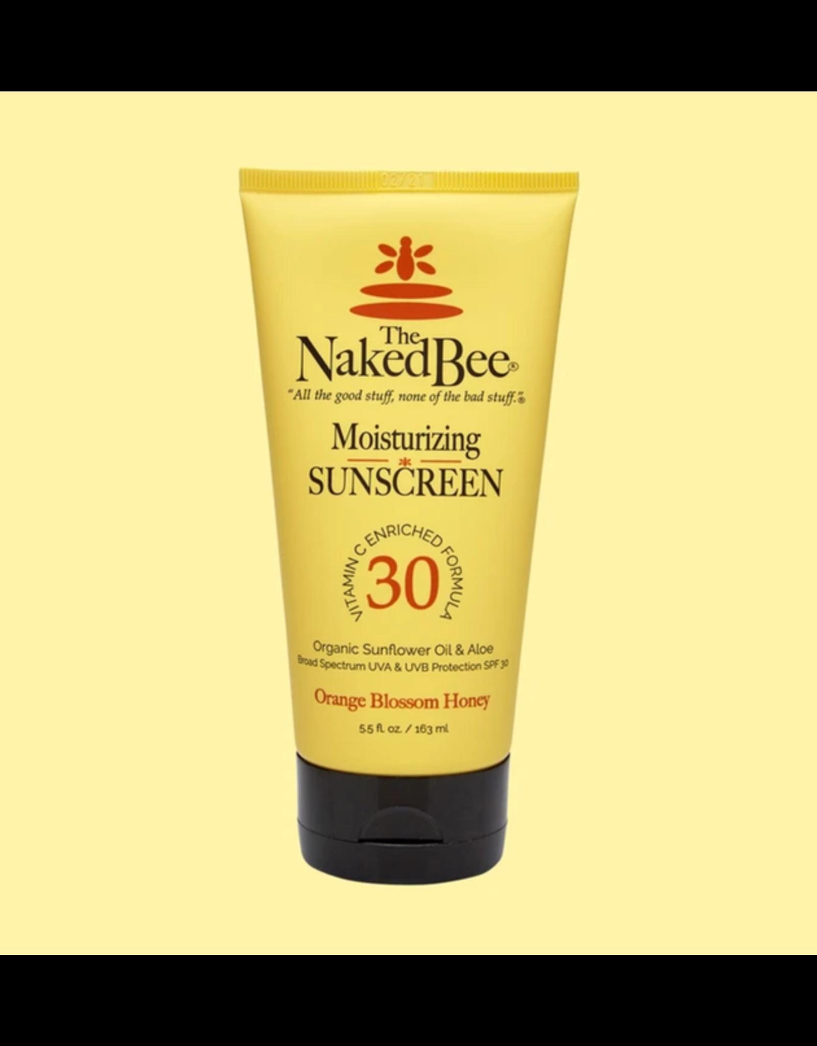 Moisturizing Sunscreen- Orange Blossom Honey