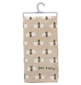 Bee Happy Dish Towel