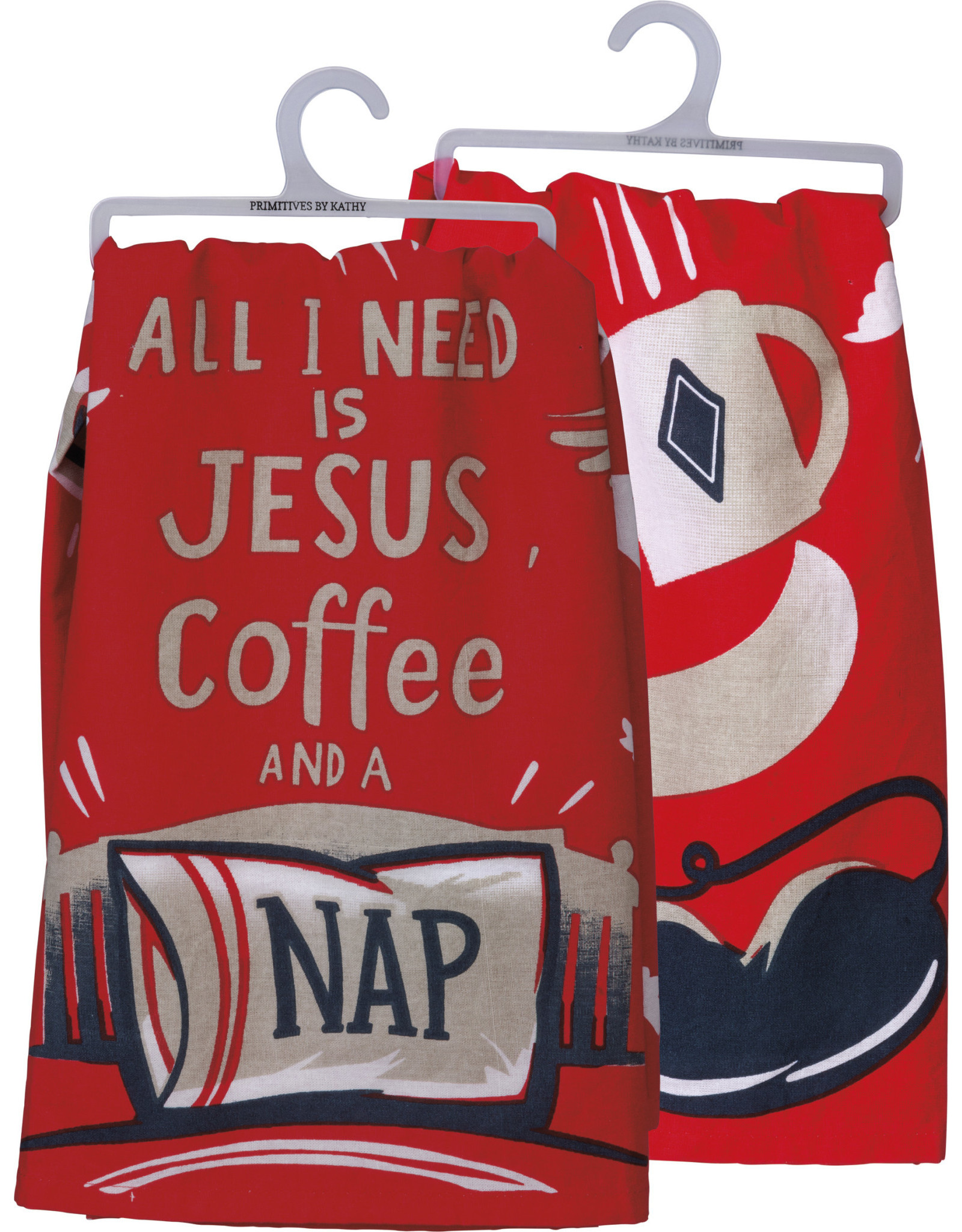 Towel, Dish- Jesus, Coffee & A Nap