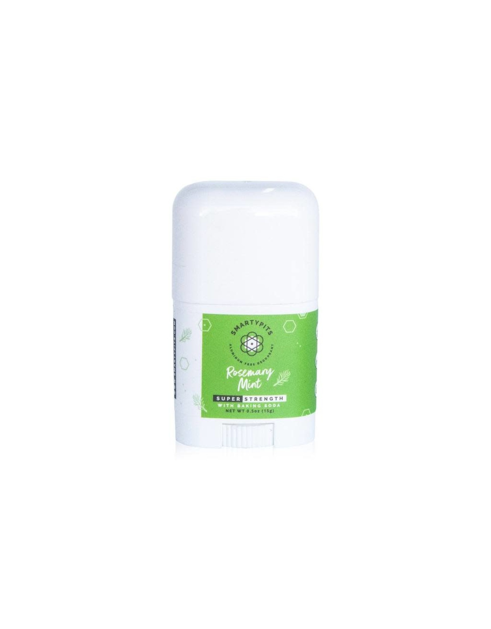 Deodorant, Aluminum, Rosemary Mint 0.5 oz