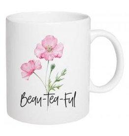 P Graham Dunn Ceramic Mug, Beau-Tea-Ful
