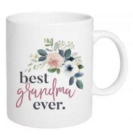 P Graham Dunn Mug, Ceramic, Best Grandma Ever