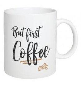 P Graham Dunn Mug, Ceramic- But First Coffee