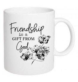 P Graham Dunn Mug, Ceramic- Friendship