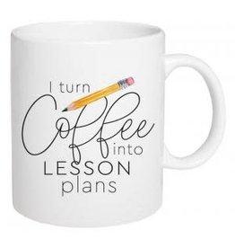 P Graham Dunn Mug, Ceramic- I Turn Coffee Into