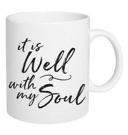 P Graham Dunn Mug, Ceramic- It Is Well With My Soul