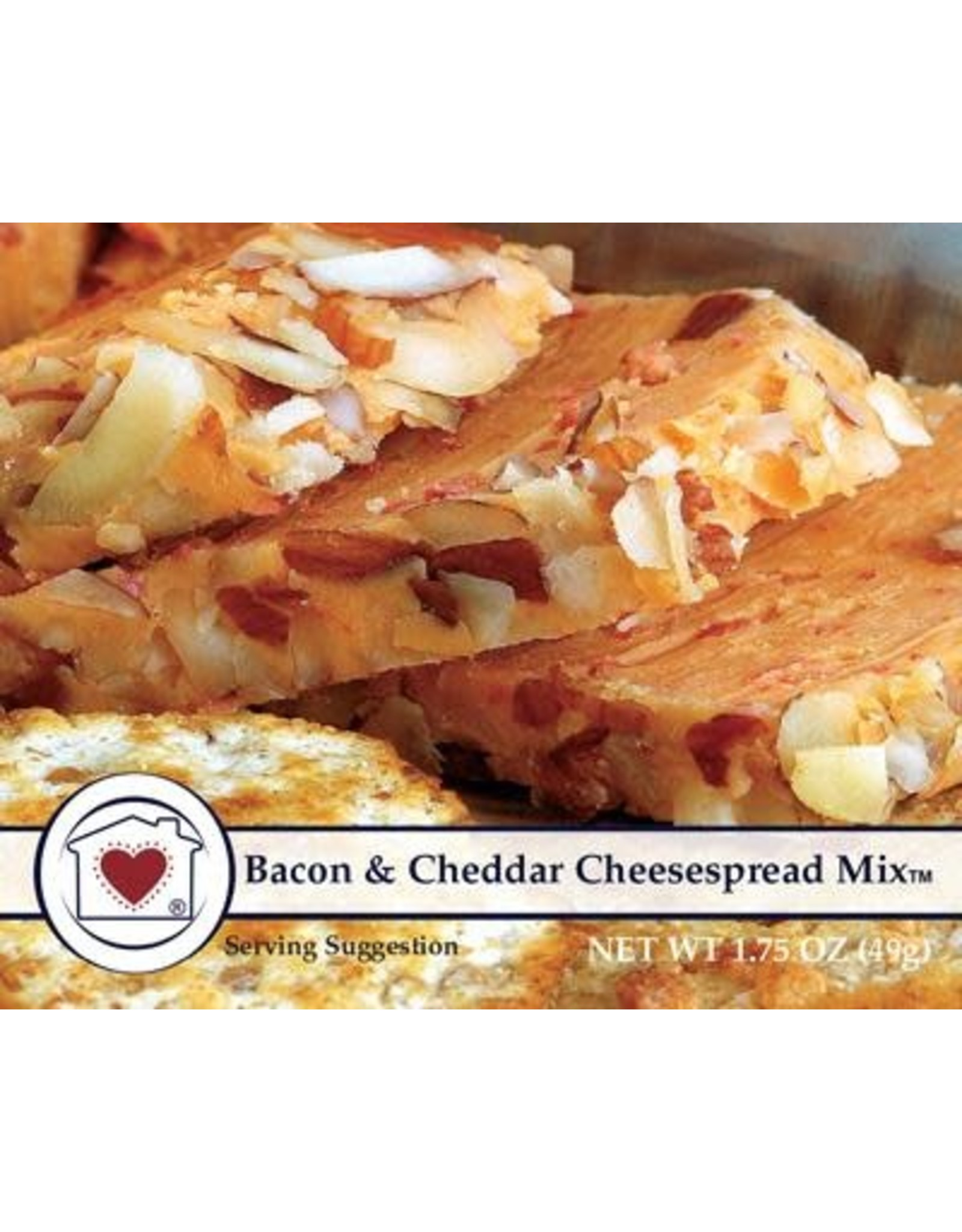 Country Home Creations Bacon & Cheddar Cheesespread Mix, 1.75 oz