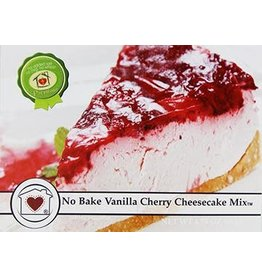 Country Home Creations No Bake Vanilla Cherry Cheesecake Mix, 6.75 oz
