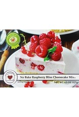 Country Home Creations No Bake Raspberry Bliss Cheesecake Mix, 4.5 oz