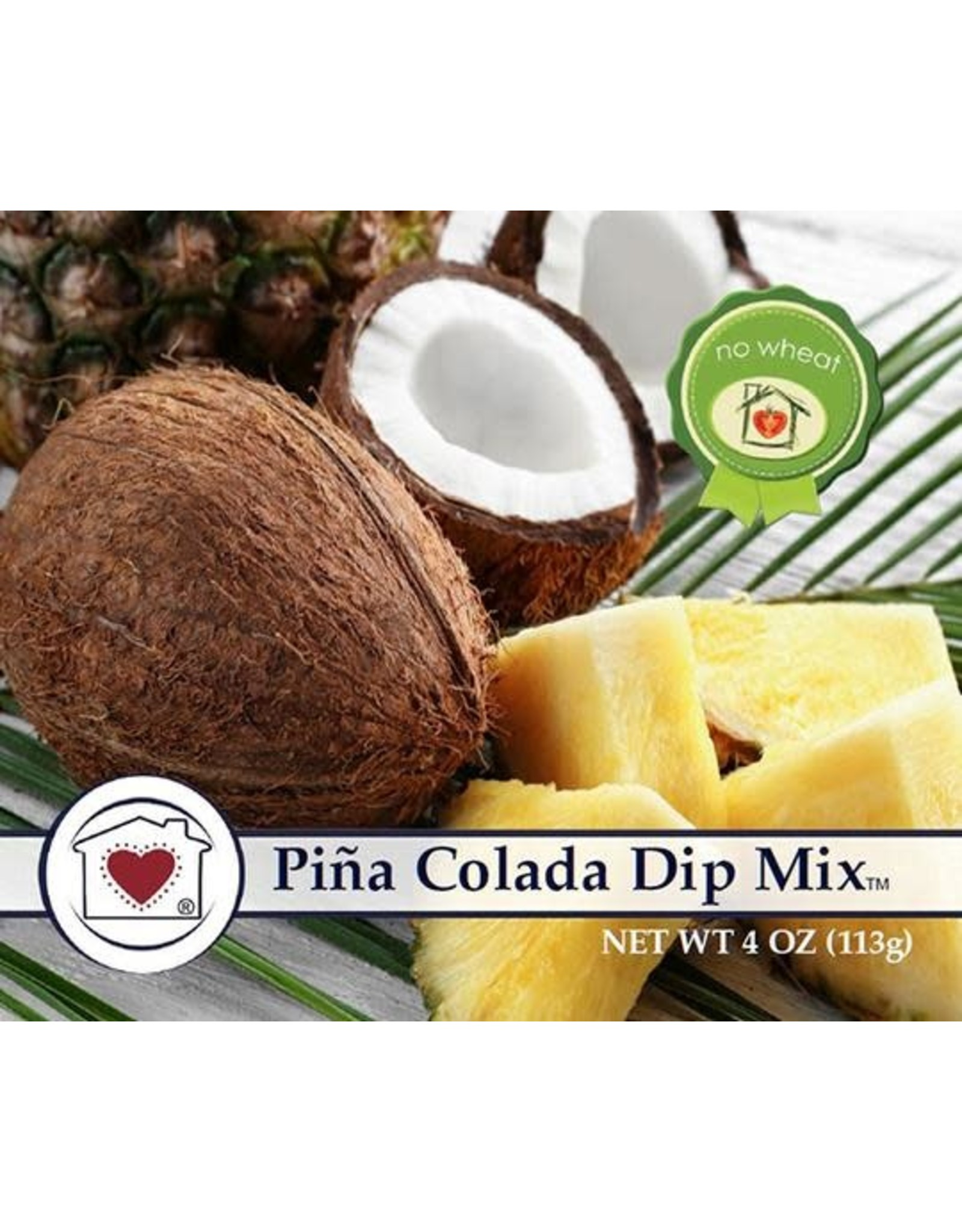 Country Home Creations Pina Colada Dip Mix, 4 oz