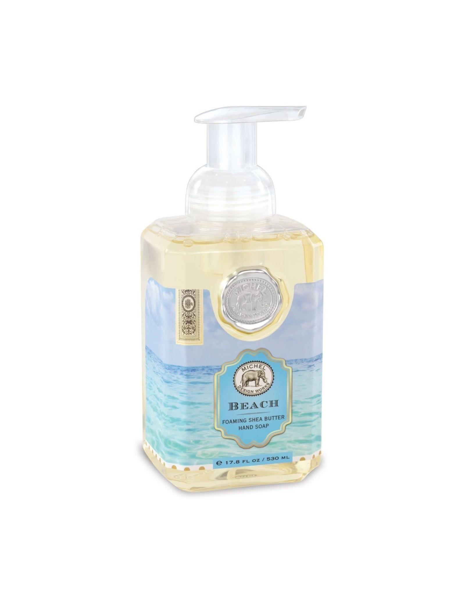 Michel Design Foaming Hand Soap, Beach, 4.7oz