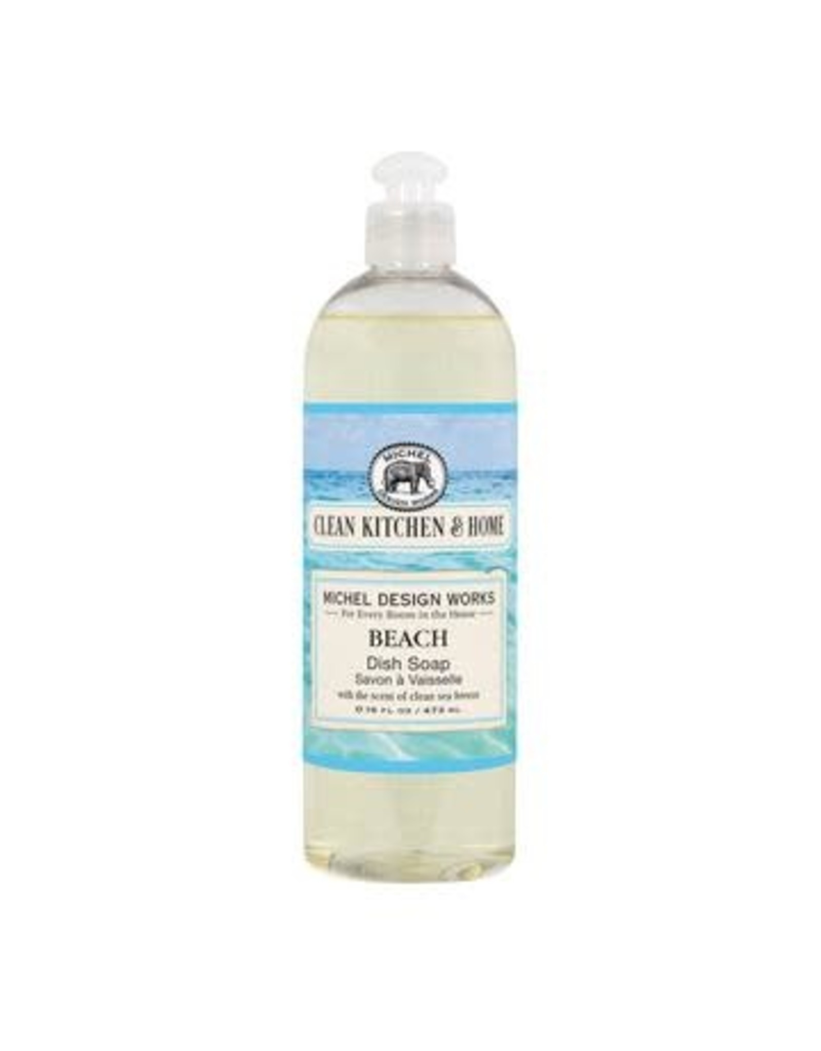 Michel Design Dish Soap, Beach, 16oz