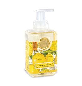 Michel Design Foaming Hand Soap, Lemon Basil, 4.7oz