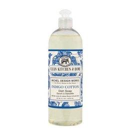 Michel Design Dish Soap, Indigo Cotton, 16oz
