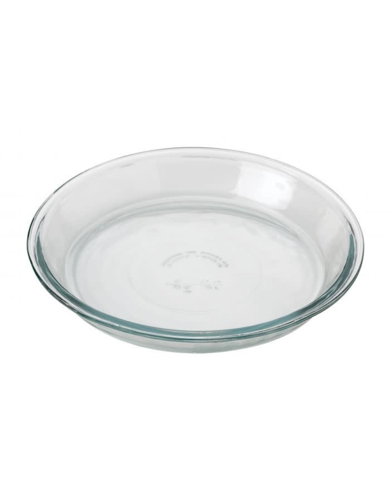 """Glass Pie Plate, 9"""""""