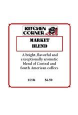 Coffee Market Blend 1/2 lb