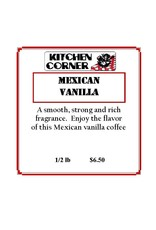 Duncan Coffee, Mexican Vanilla, 1/2lb