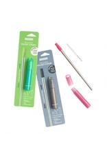 Reusable Pocket Straw-Charcoal