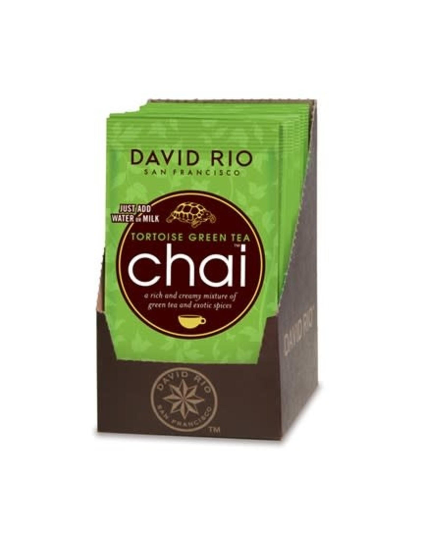 Coffee Master Chai Tea, Tortoise Green, 1 oz