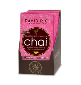 Coffee Master Chai Tea, Flamingo Vanilla Sugar Free/Decaf, 0.63 oz