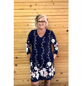 Spring into Floral Tunic Dress