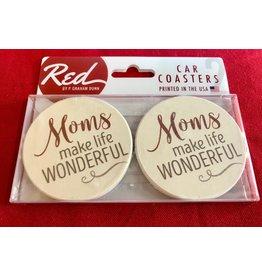 P Graham Dunn Coaster, Car Moms Make Life Wonderful, S/2