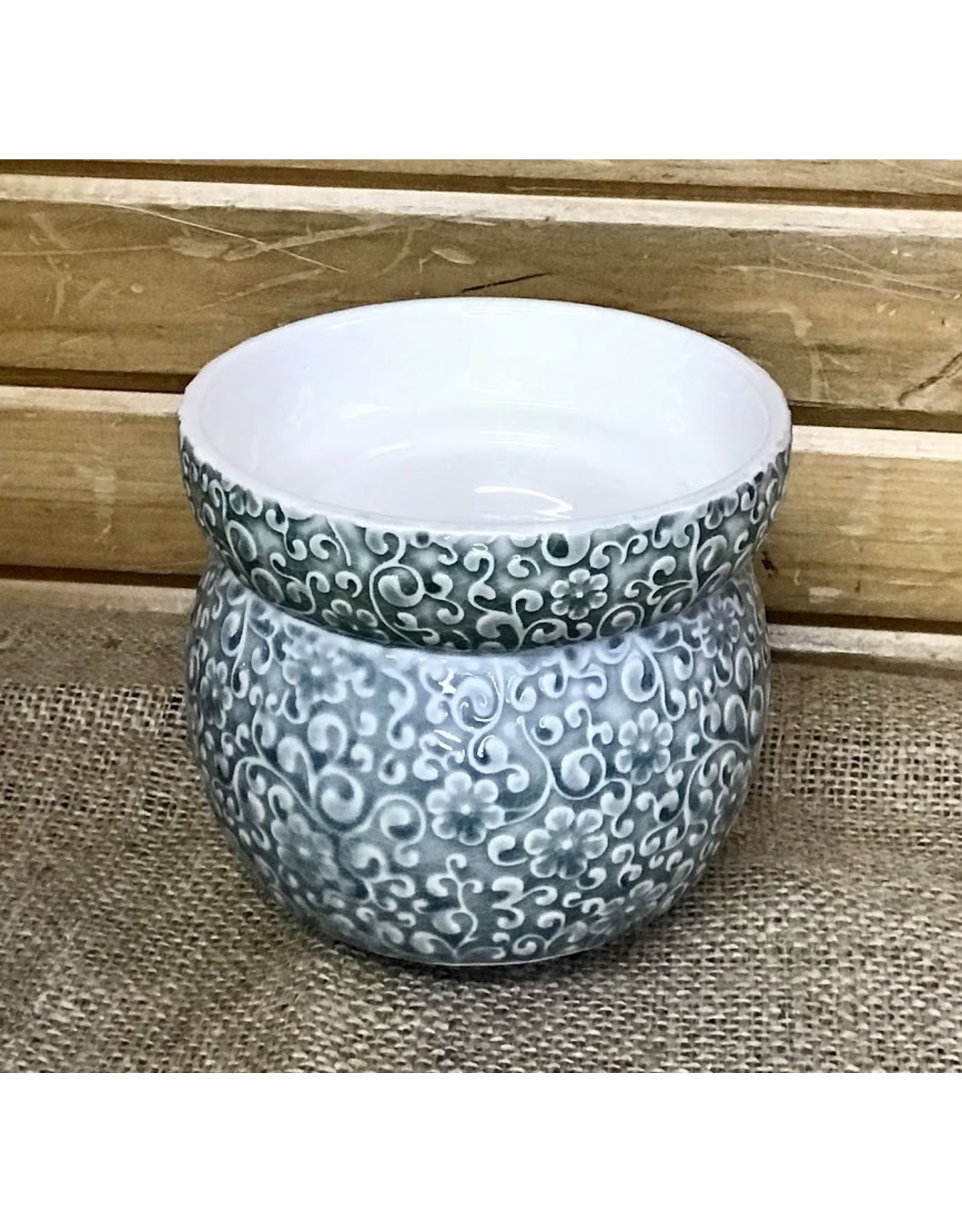 Swan Creek Candle Warmer Floral Sage