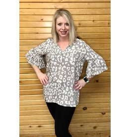 Mary Square Shea Ruffle Blouse
