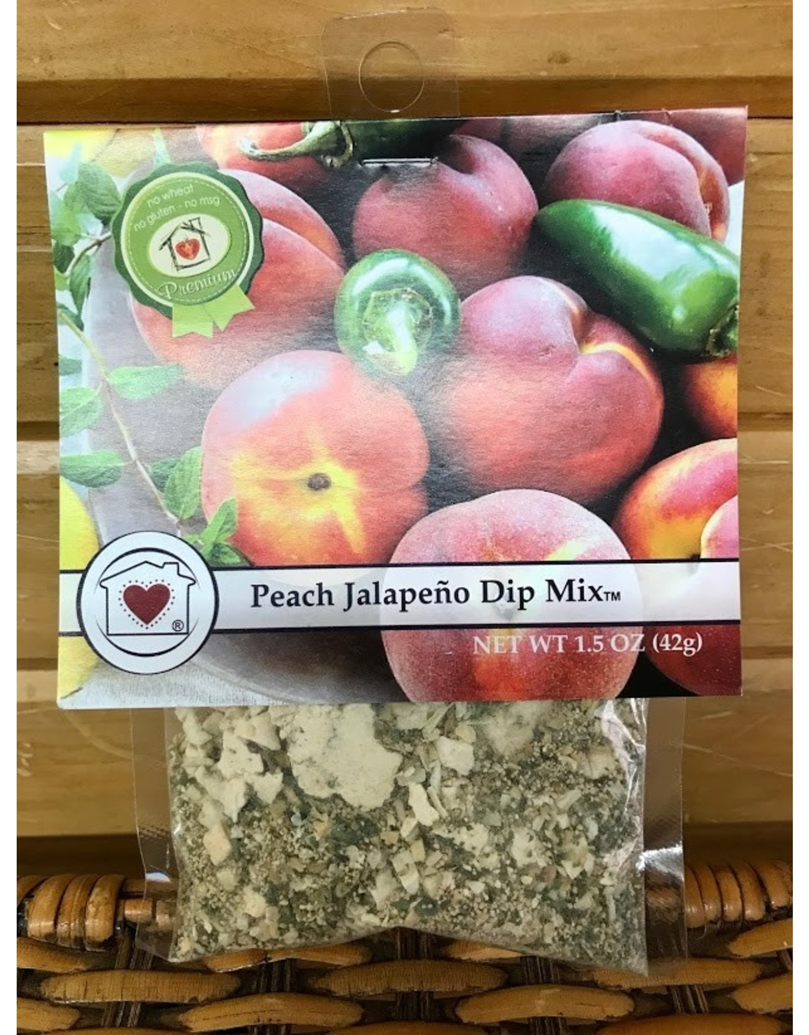 Country Home Creations Dip Mix:  Peach Jalapeno 1.5 oz