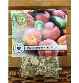 Country Home Creations Dip Mix:  Peach Jalapeno 1.5 oz