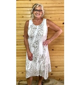 Picadilly Sleeveless Midi Dress