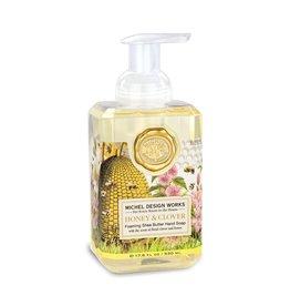 Michel Design Foaming Hand Soap, Honey & Clover, 17.8oz