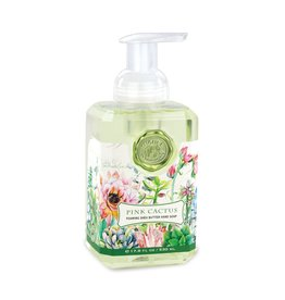 Michel Design Foaming Hand Soap, Pink Cactus, 17.8oz