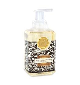 Michel Design Foaming Hand Soap, Honey Almond, 17.8oz
