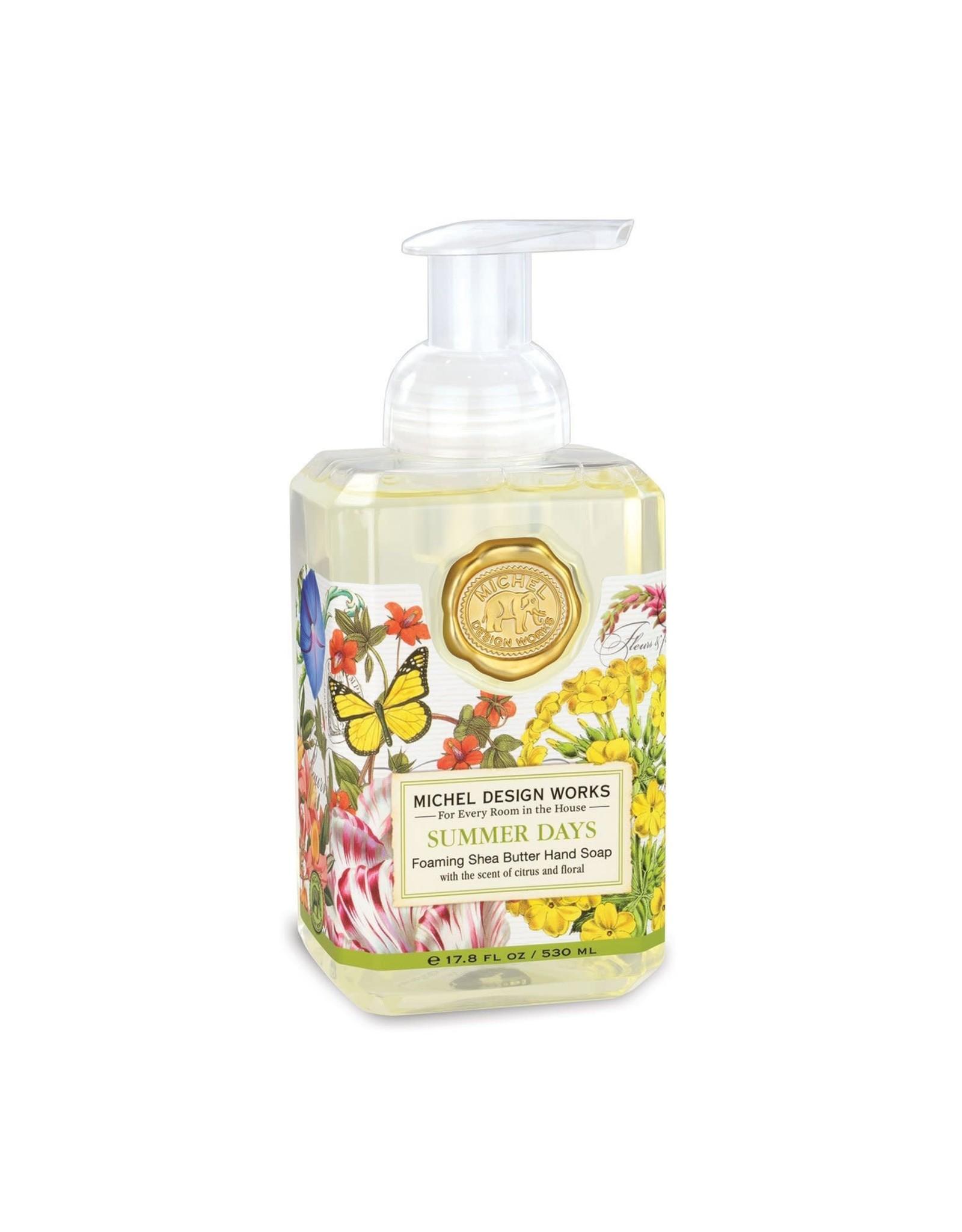 Michel Design Foaming Hand Soap, Summer Days, 17.8oz