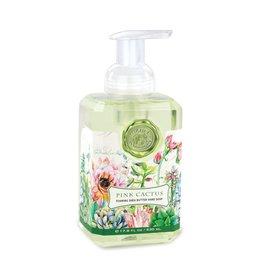 Michel Design Foaming Hand Soap, Pink Cactus, 4.7oz