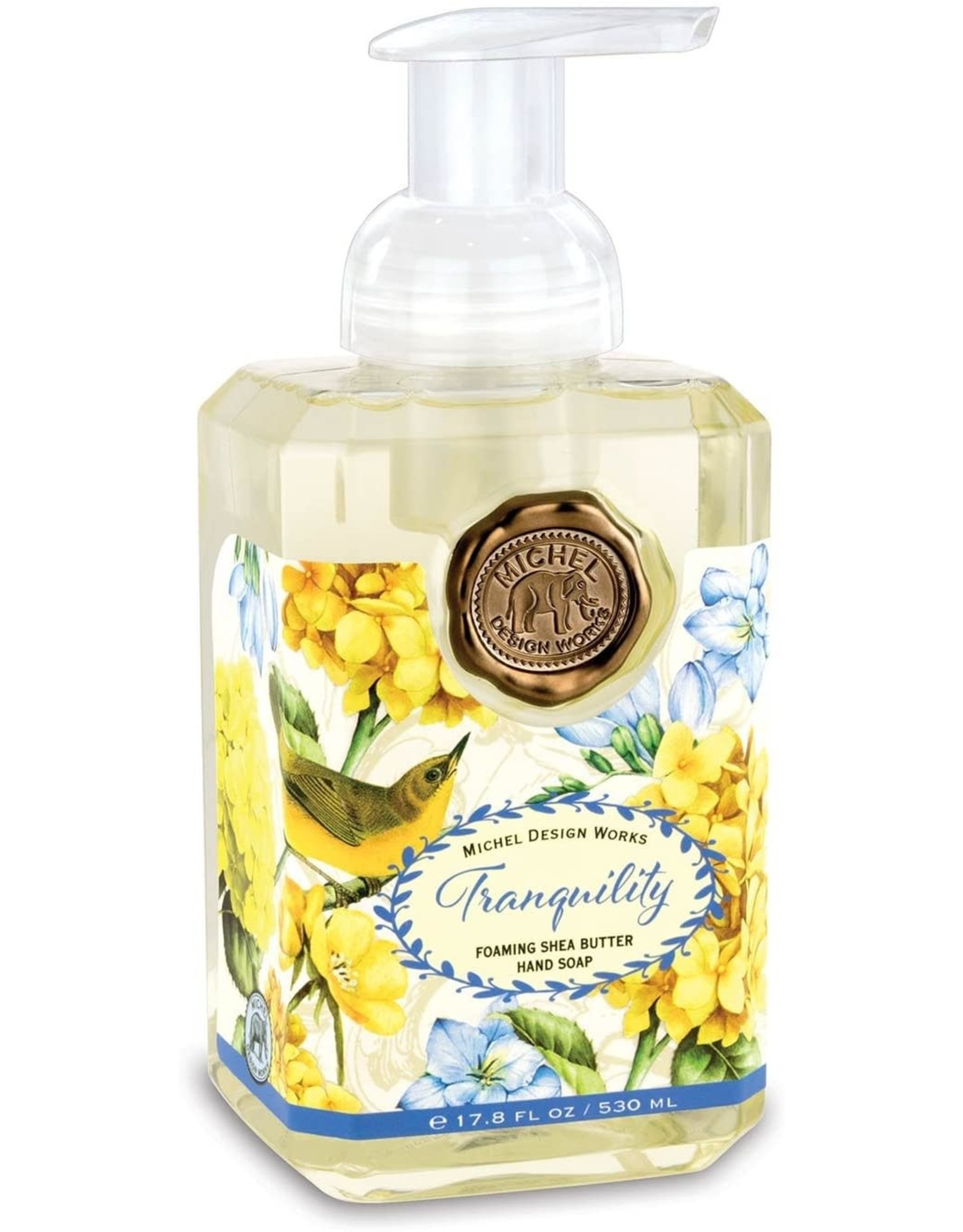 Michel Design Foaming Hand Soap, Tranquility, 17.8oz