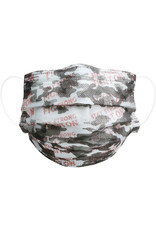 Disposable Mask, Pink Camo, S/7