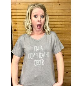 Mary Square I'm a  Complicated Order T-Shirt